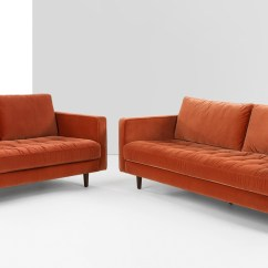 Cotton Velvet Sofa Small Office 20 Best Burnt Orange Sofas Ideas