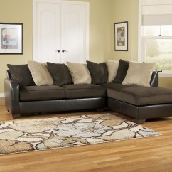 Ashley Furniture Sofas Best For Low Back Pain Sectional Brown Leather