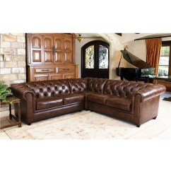 Abbyson Living Berkshire Italian Leather Sectional Sofa Jennifer Sofas 20 Best Ideas