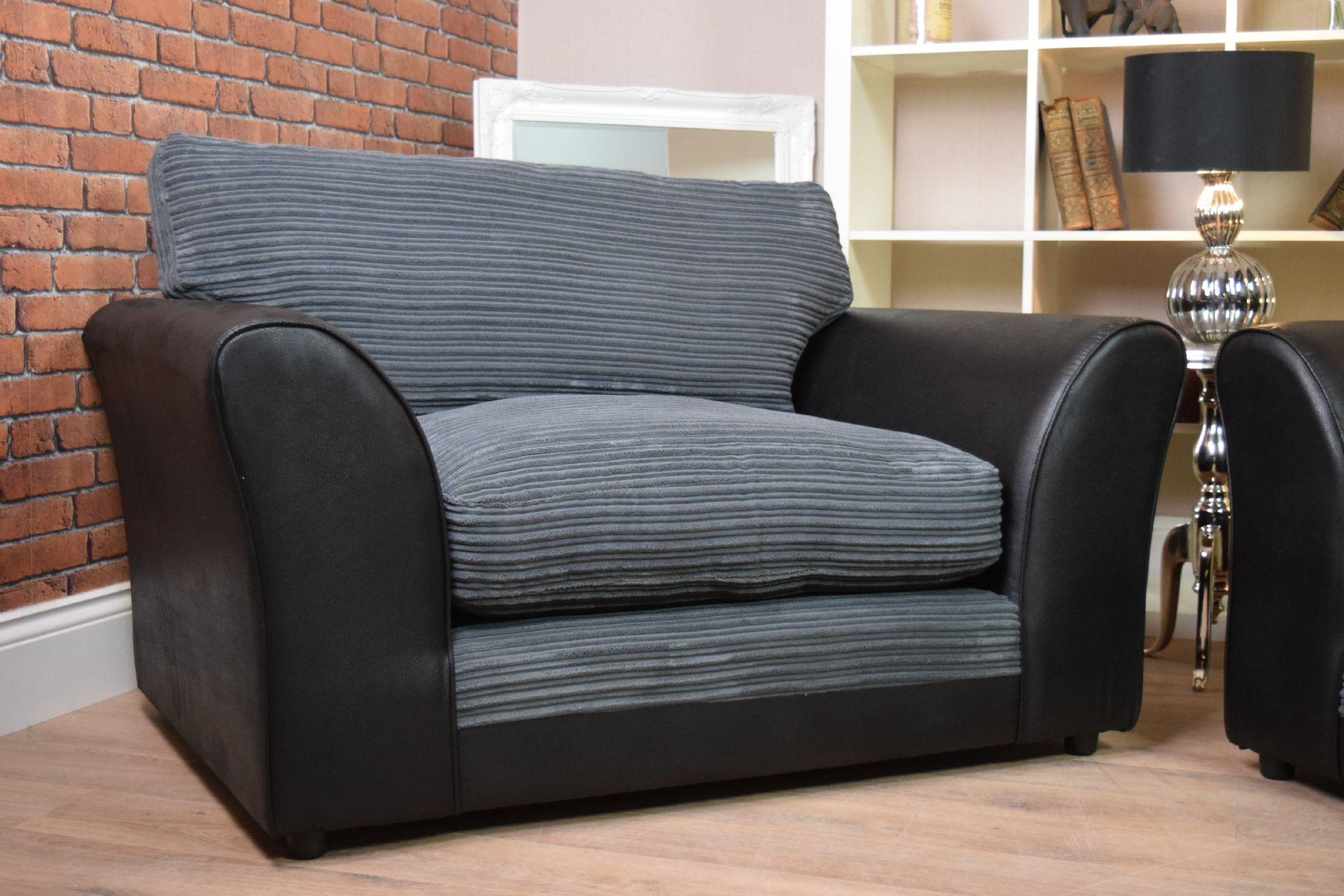 black 3 seater sofa and cuddle chair sectional beds ikea 20 best collection of chairs