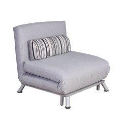 Cheap Single Sofa Chair Blue Velvet Sleeper 20 Photos Bed Chairs Ideas