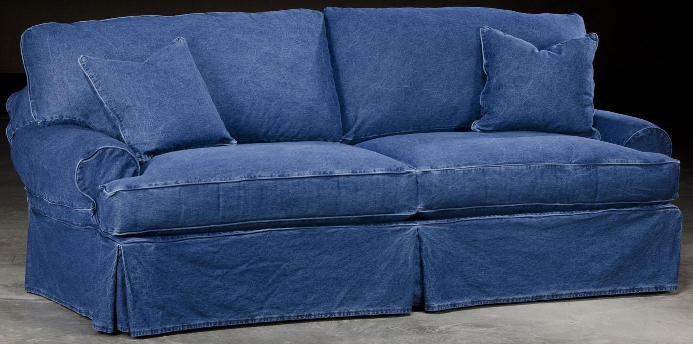 slip cover chairs hanging swing chair stand 12 ideas of denim sofas and loveseats | sofa