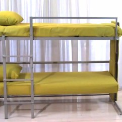 Loft Bed With Sofa Under Reclining Microfiber 20 Ideas Of Bunk Beds