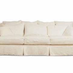 Off White Slipcover Sofa Sagging Cushions For 3 Cushion Sure Fit Slipcovers Ultimate