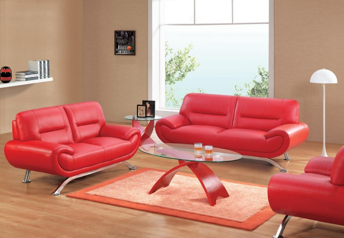 red leather sofa cheap simmons chocolate microfiber 20 inspirations sofas ideas