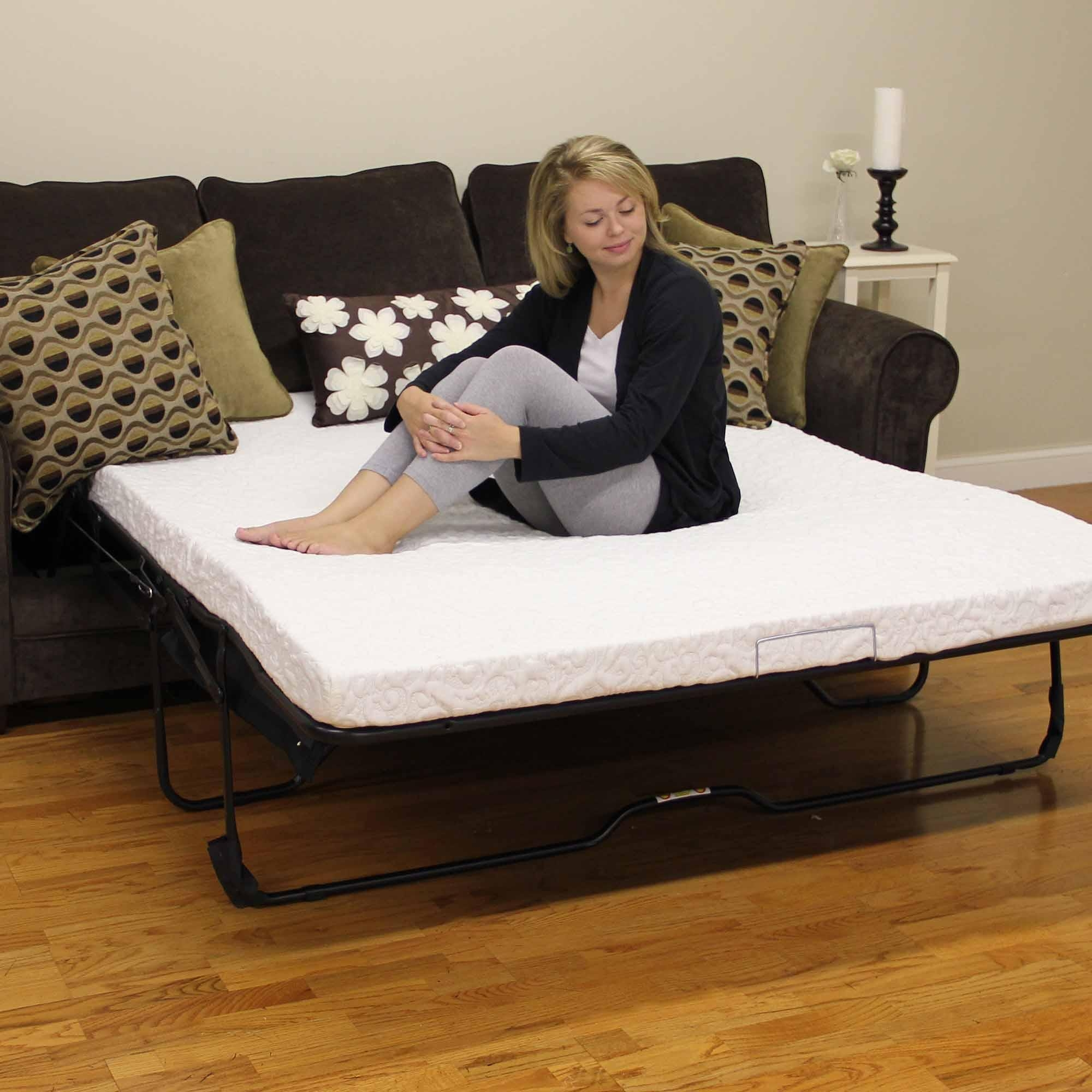 queen size memory foam mattress for sleeper sofa upholstery sofas manchester 20 photos ideas