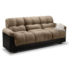 Julia Cupholder Convertible Futon Sofa Bed White Baxton Studio Hilaria Black Leather Modern Sectional 20 Best Ideas Beds