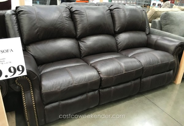 Pulaski Reclining Leather Sofa Costco Year Of Clean Water