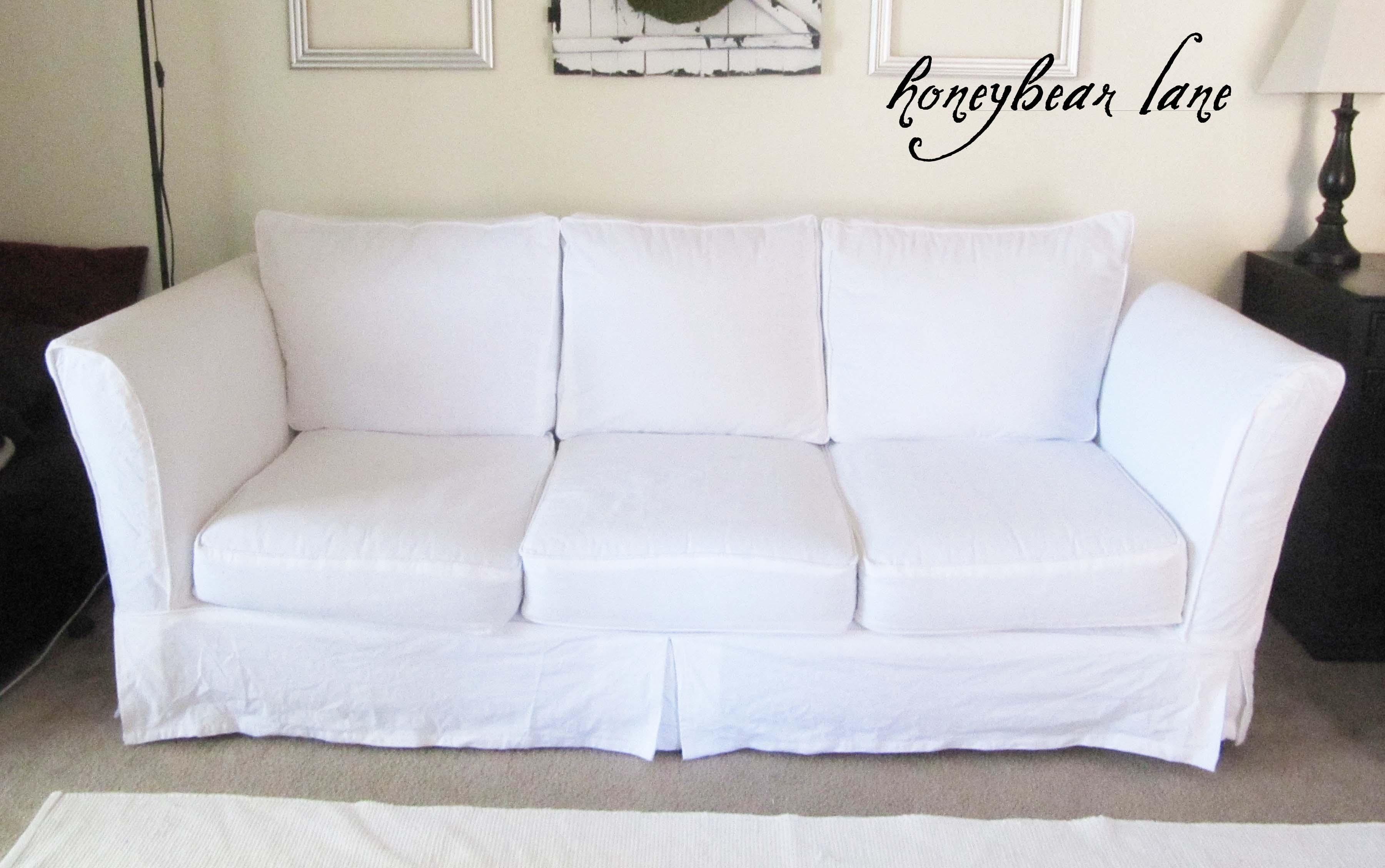 white sofa slipcover cotton sleeper miami fl 20 collection of canvas sofas covers ideas