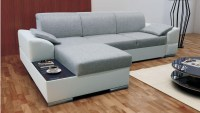 Corner Sofas With Storage Malaga Luxury Corner Sofa Bed