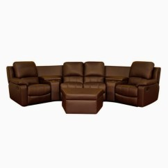 Sofa With Recliners Slipcover Johnston Benchworks 20 Inspirations Curved Recliner | Ideas