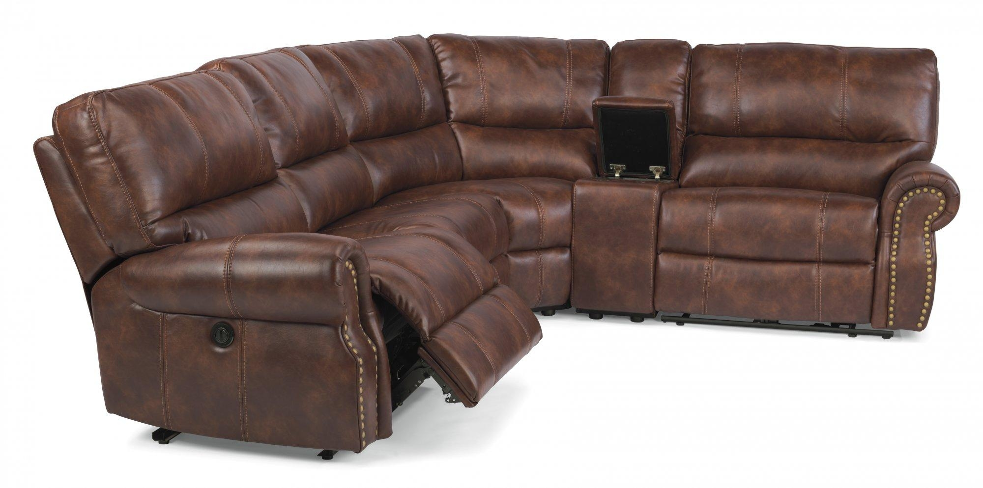 huge leather sectional sofa with electric footrest 20 ideas of