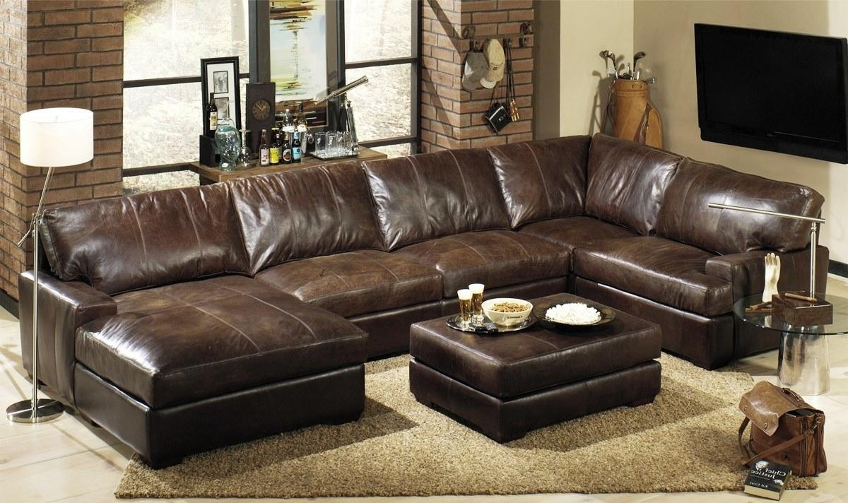 15 Best Ideas Deep Seat Leather Sectional Sofa