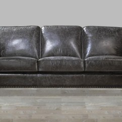 Nailhead Trim Sofa Ashley Very Large Throws 2017 Latest Charcoal Grey Leather Sofas   Ideas