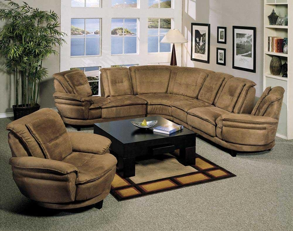 Sectional Chaise And Ottoman