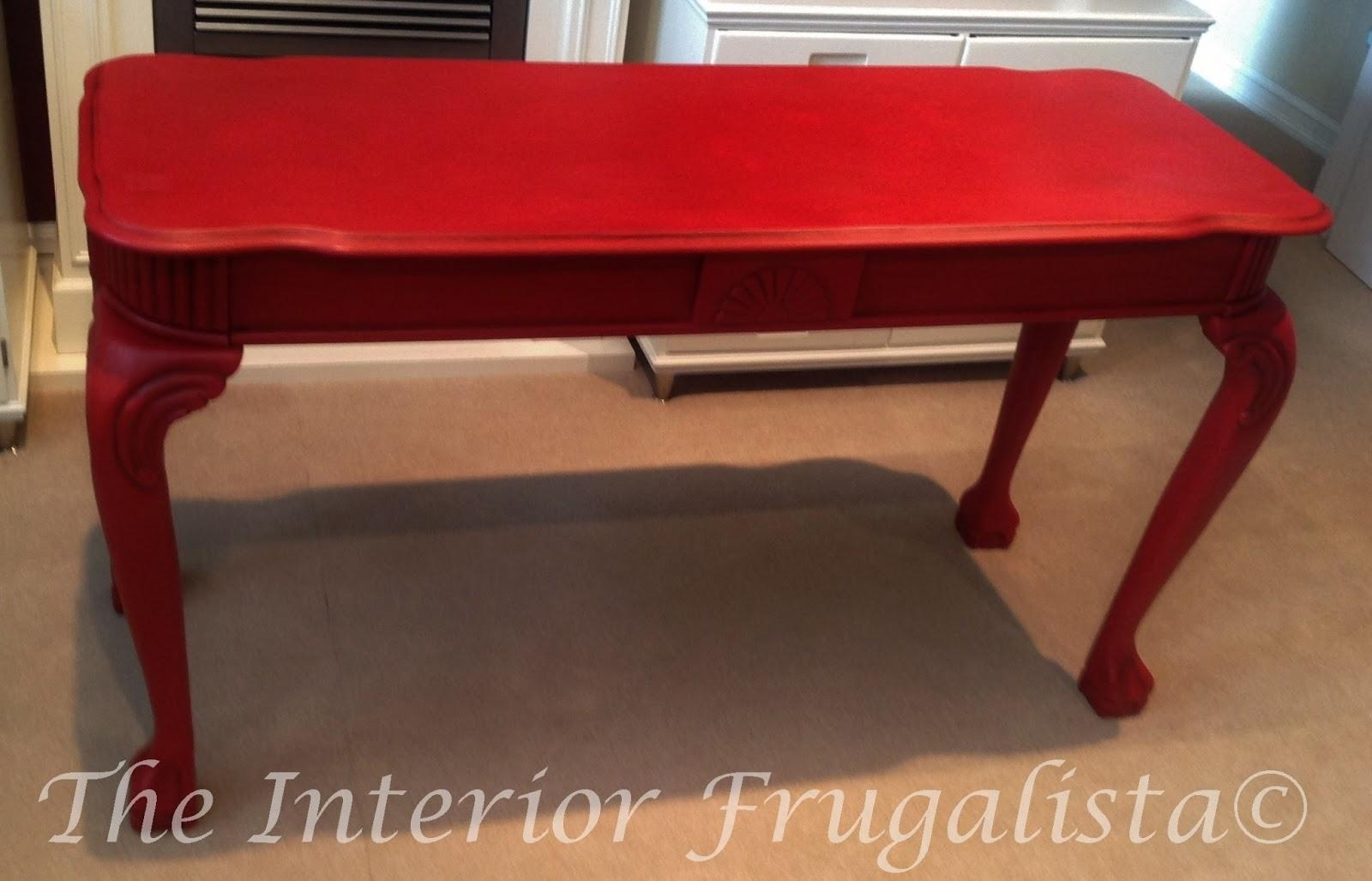 sofa table ebay fabric sofas for sale 20 ideas of red tables