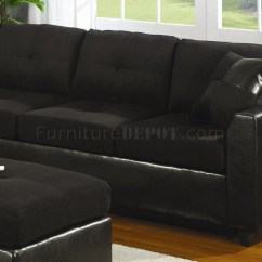Cheap Sectional Sofas Canada Double Wide Sofa 15 Best Ideas Black Fabric |