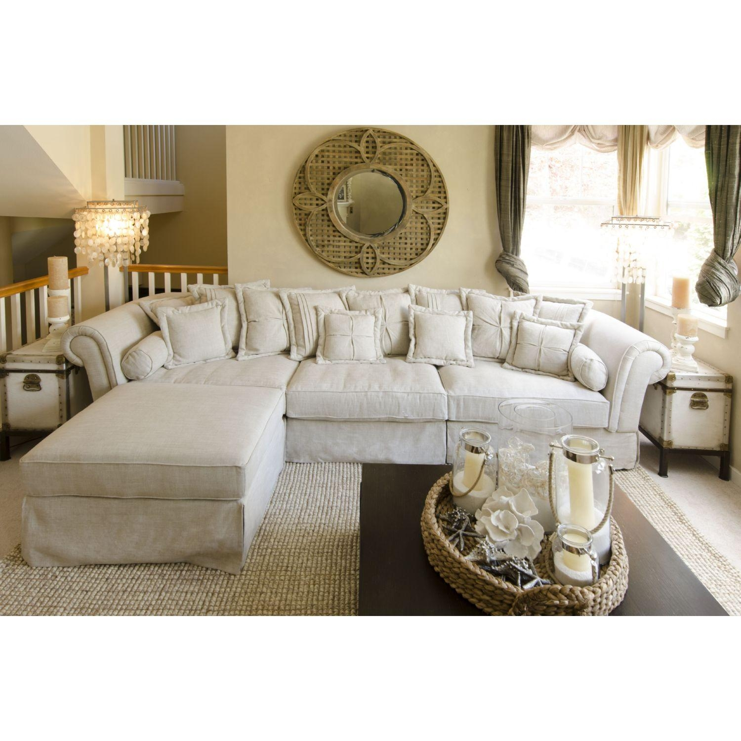 flower sofa covers most comfortable bed nz 20 top shabby chic slipcovers ideas