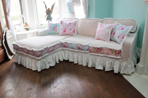 Top Shabby Slipcovers Sofa Ideas