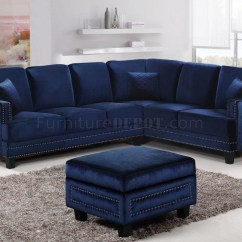 Blue Leather Sofas Robert Michael Cau Sofa 20 Collection Of Sectional Ideas