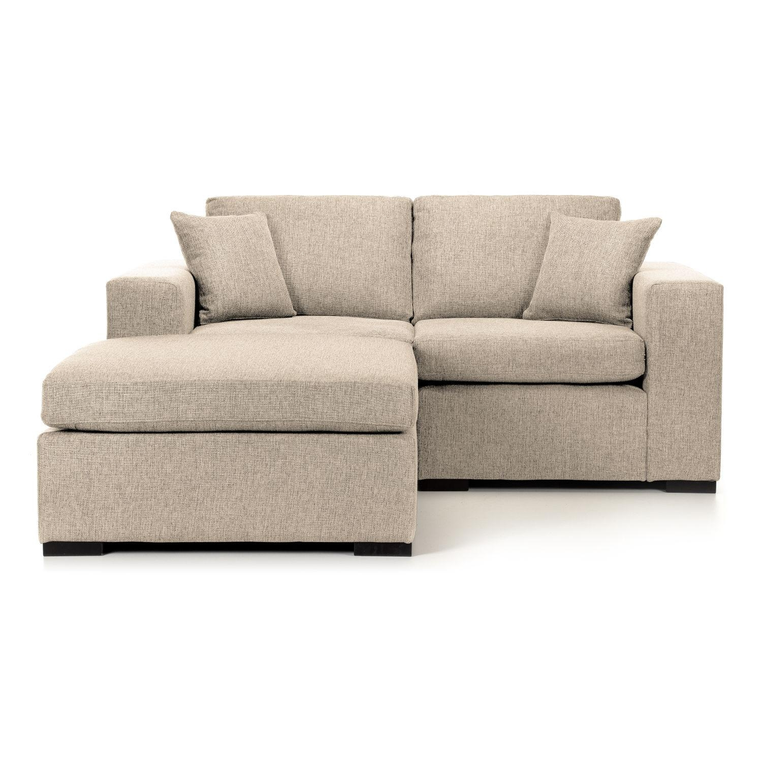 Small Scale Sectional Sofa Chaise