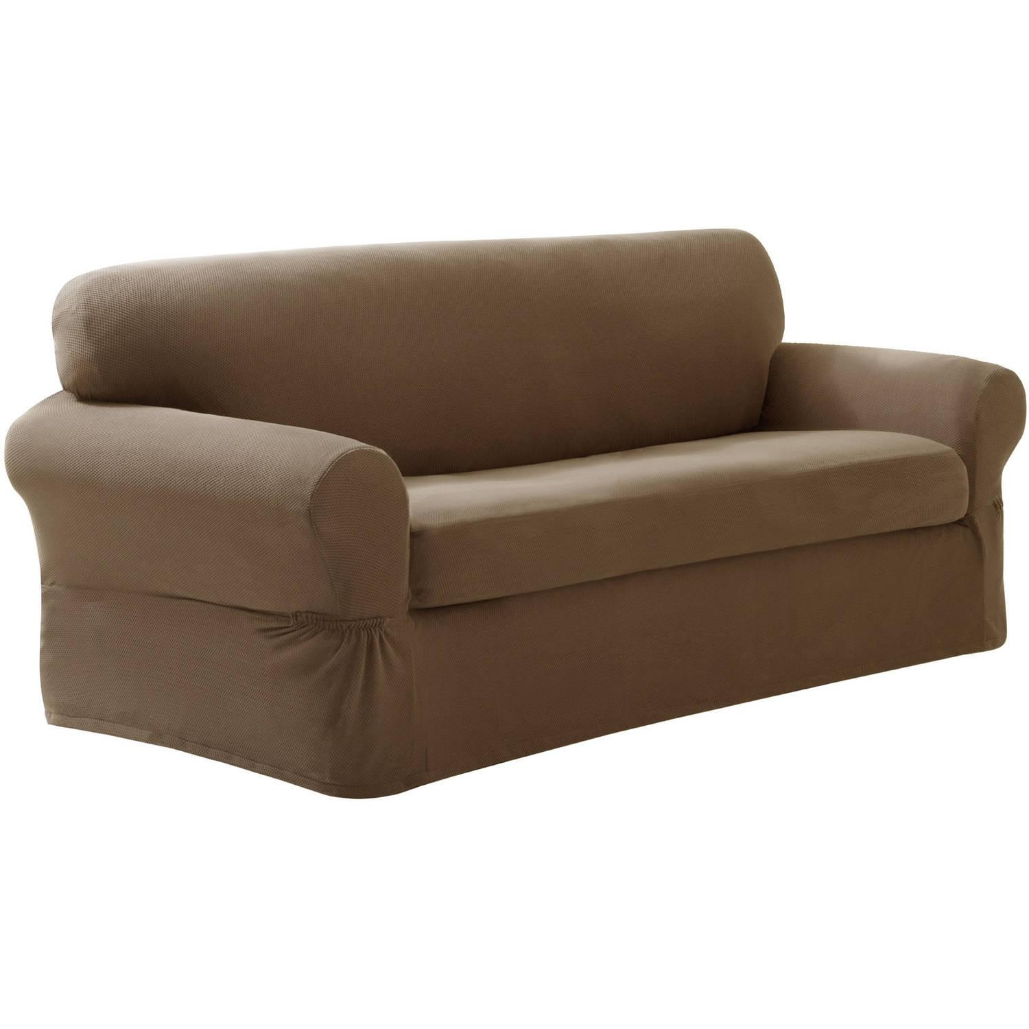 sectional sofa slipcovers walmart broyhill monica 20 best collection of stretch slipcover sofas ideas