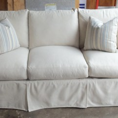 White Sofa Slipcover Cotton 2 Seater Metal Futon Bed 20 Photos Canvas Sofas Ideas