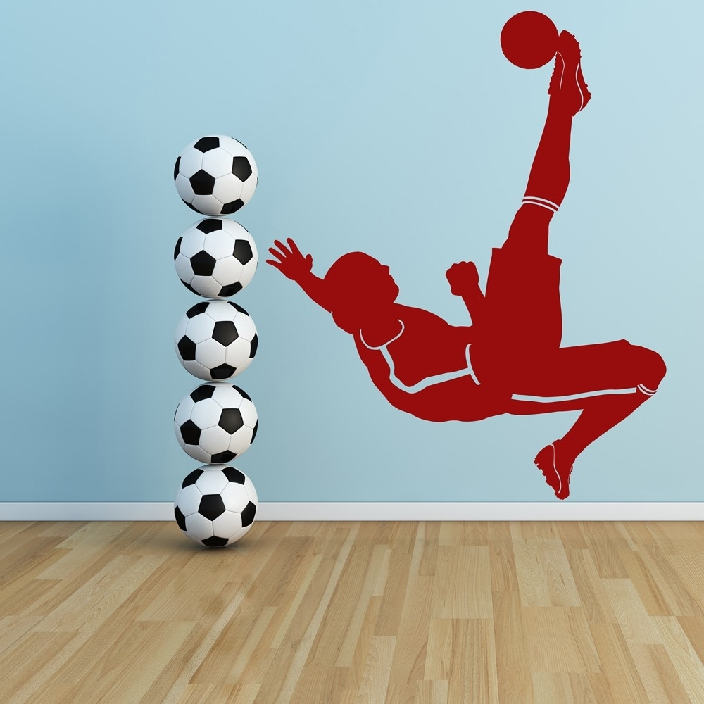 Sports Wall Decals Bring Inspiration To Your Boys Bedroom