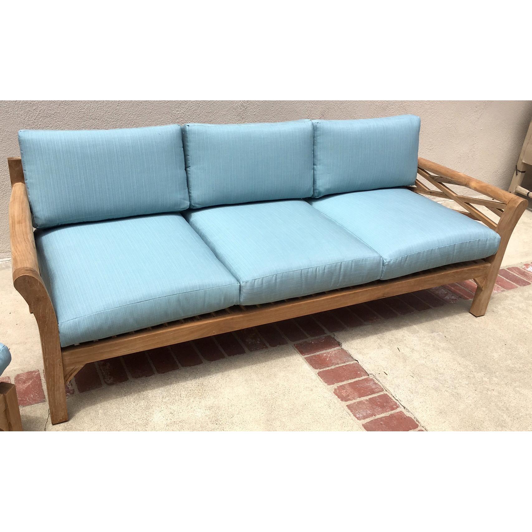 oversized patio chair cushions cheap high chairs walmart 20 ideas of deep cushion sofa |