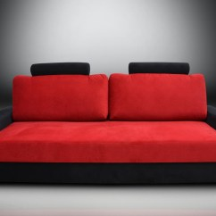 Black And Red Sofa Bed Leather Chair 20 Photos Ideas