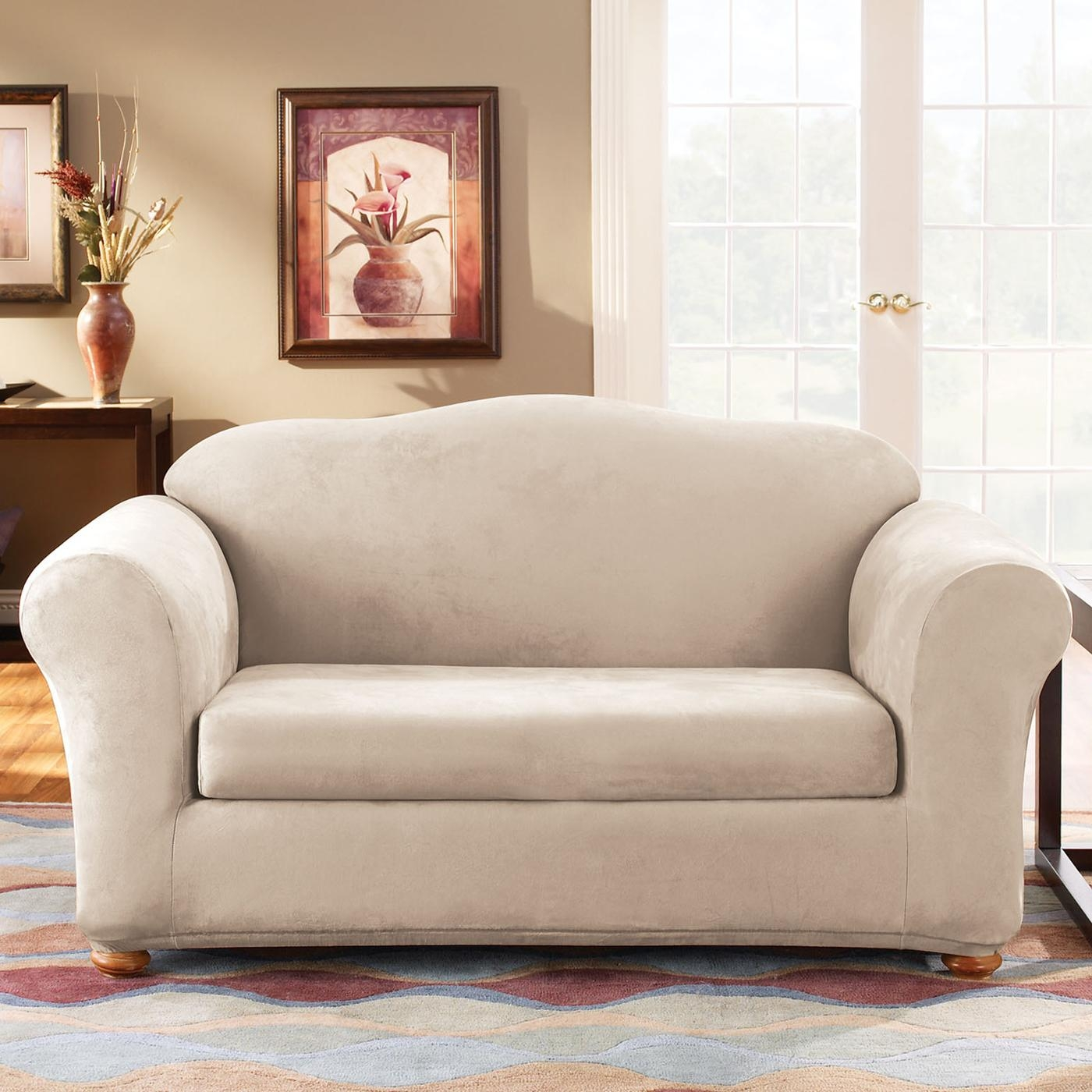 sure fit durham one piece sofa slipcover cleaning whitefield bangalore 20 best ideas suede slipcovers for sofas