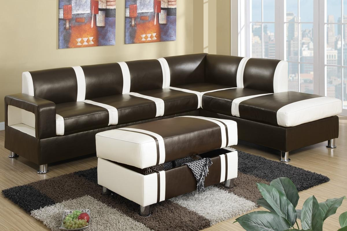buchannan faux leather sectional sofa with reversible chaise chestnut lane sleeper 2018 latest sofas ideas