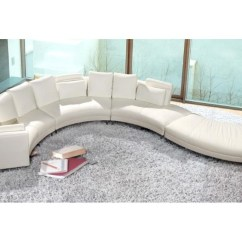 White Leather Sofa Sale And Chair Company 2018 Latest Curved Sectional Ideas