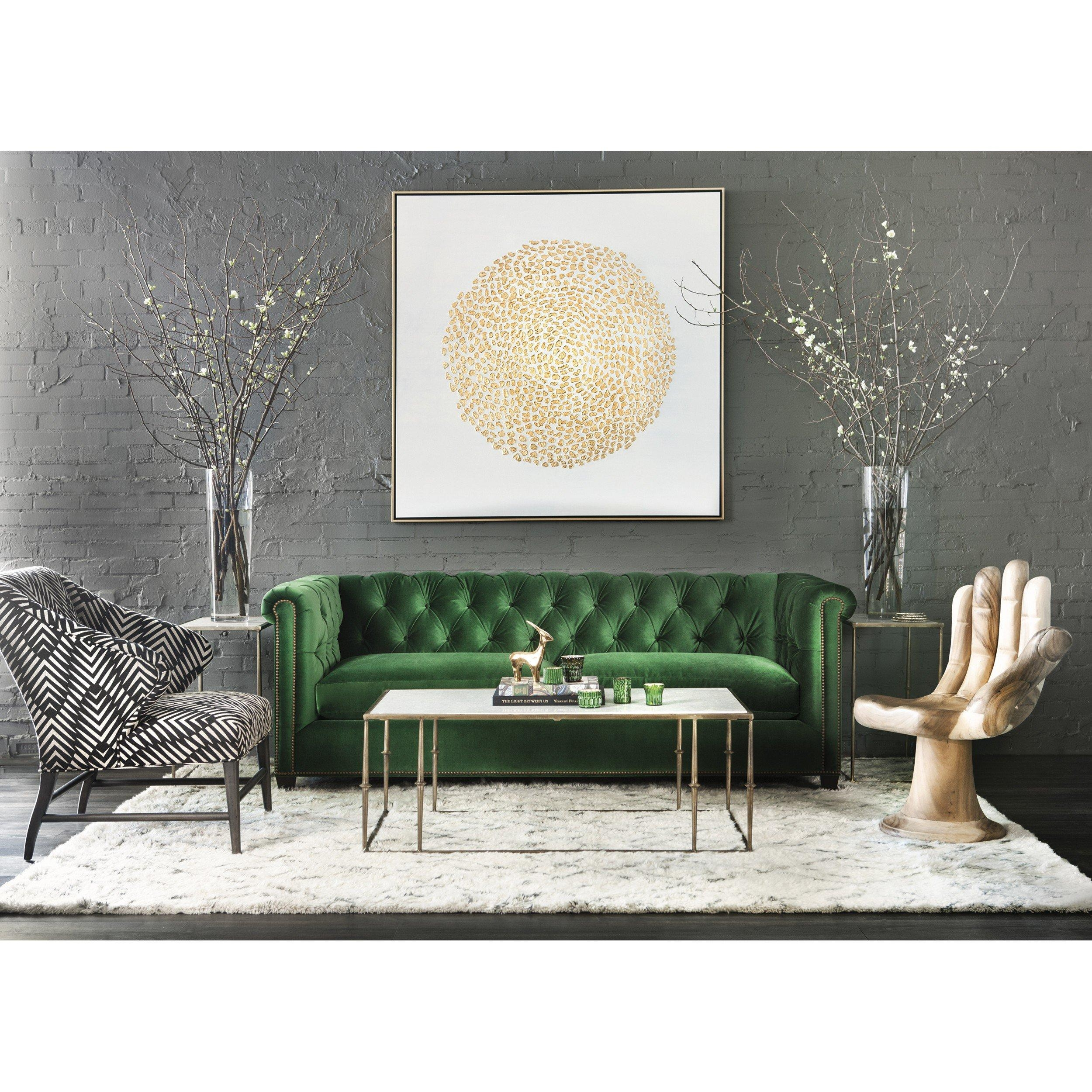 leather sectional sofa tufted modern sets 20 best ideas emerald green sofas |