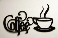 20 Best Ideas Metal Coffee Cup Wall Art | Wall Art Ideas