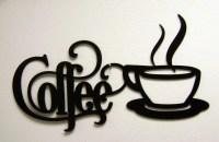 Coffee Metal Wall Art Entrancing Design Toscano Cup Of Joe ...