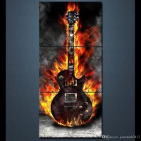 20 Collection of Guitar Canvas Wall Art | Wall Art Ideas