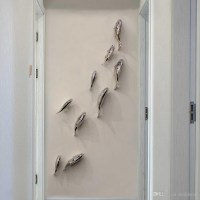 20 Collection of Stainless Steel Fish Wall Art