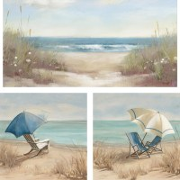 20 Top 3 Piece Beach Wall Art | Wall Art Ideas