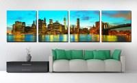 20 Inspirations Cityscape Canvas Wall Art   Wall Art Ideas