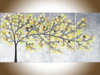 20 Top Yellow Grey Wall Art