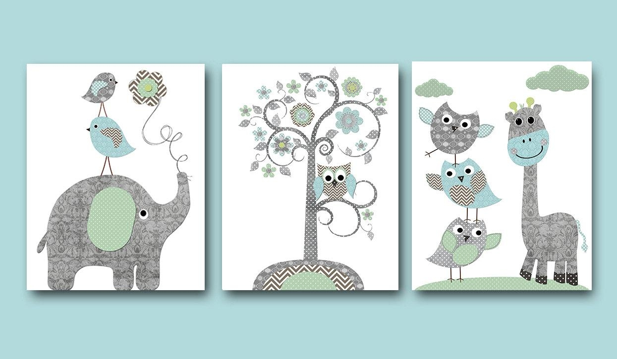 20 Best Collection of Etsy Childrens Wall Art