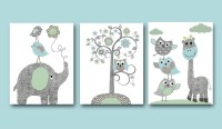 20 Best Collection of Etsy Childrens Wall Art | Wall Art Ideas