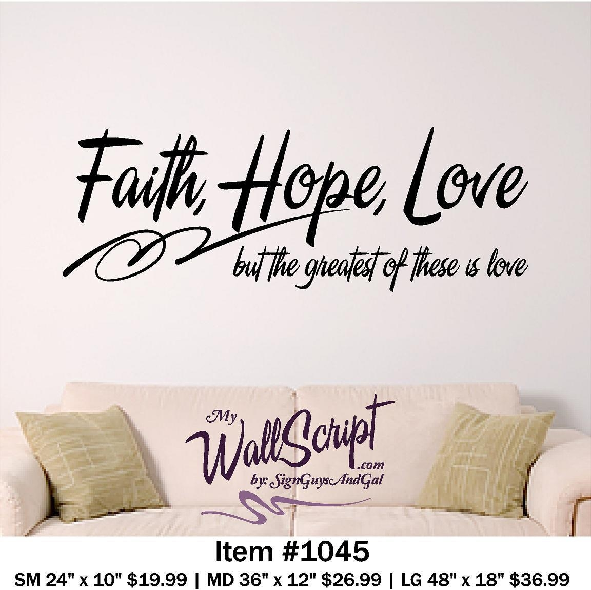 20 Collection of Bible Verses Wall Art