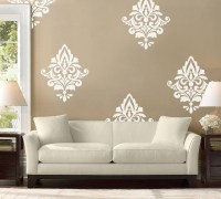 20 Ideas of Black and White Damask Wall Art | Wall Art Ideas