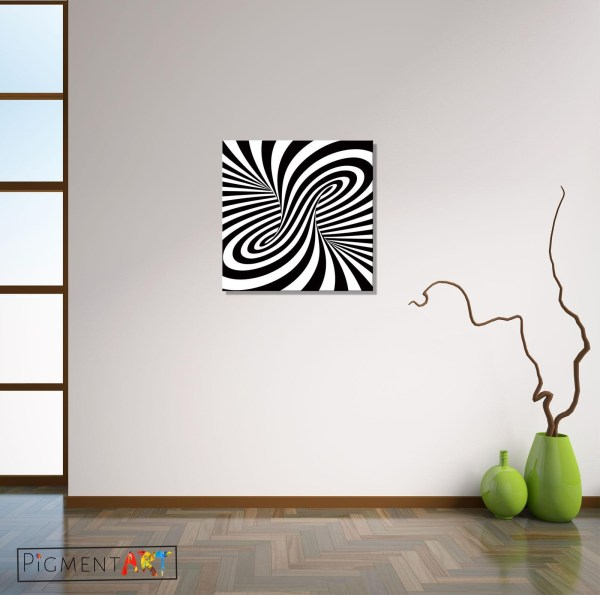 Inspirations Optical Illusion Wall Art Ideas