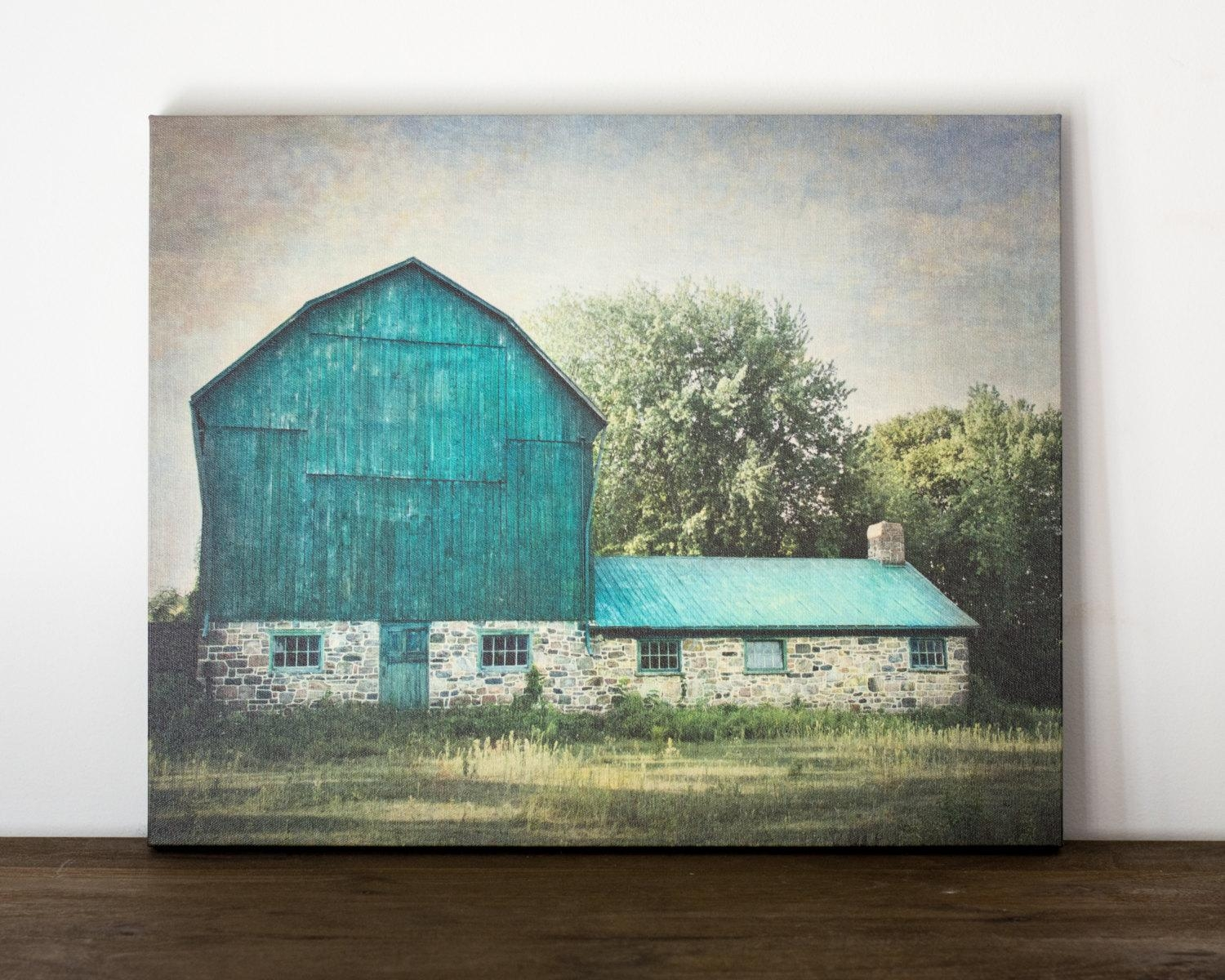 2018 Latest Country Canvas Wall Art