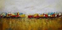 20 Inspirations Cityscape Canvas Wall Art | Wall Art Ideas
