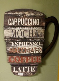 20 Best Ideas Metal Coffee Cup Wall Art