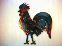 20 Best Ideas Metal Rooster Wall Decor